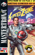 Speed Zone Amstrad CPC Front Cover