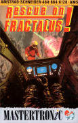 Rescue on Fractalus! Amstrad CPC Front Cover