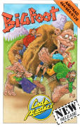 Bigfoot Amstrad CPC Front Cover