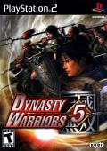 Dynasty Warriors 5 PlayStation 2 Front Cover
