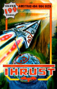 Thrust Amstrad CPC Front Cover
