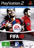 FIFA Soccer 08 PlayStation 2 Front Cover