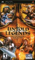 Untold Legends: Brotherhood of the Blade PSP Front Cover