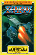 Xevious Amstrad CPC Front Cover
