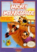 Mickey Mousecapade NES Front Cover