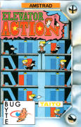 Elevator Action Amstrad CPC Front Cover