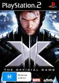 X-Men: The Official Game PlayStation 2 Front Cover