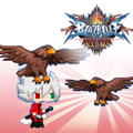 BlazBlue: Chrono Phantasma Extend - Eagle Cap PlayStation 3 Front Cover