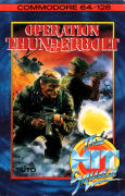 Operation Thunderbolt Commodore 64 Front Cover