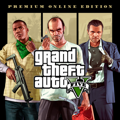 Grand Theft Auto V: Premium Online Edition PlayStation 4 Front Cover