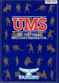 UMS: The Universal Military Simulator DOS Front Cover