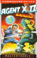 Agent X II: The Mad Prof's Back! Commodore 64 Front Cover