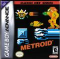 Metroid Game Boy Advance Front Cover