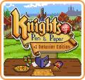 Knights of Pen & Paper: +1 Deluxier Edition Nintendo Switch Front Cover