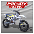 MX vs ATV All Out: 2017 Husqvarna TC 125 PlayStation 4 Front Cover