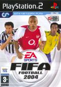 FIFA Soccer 2004 PlayStation 2 Front Cover