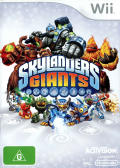 Skylanders Giants Wii Front Cover