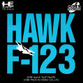Hawk F-123 TurboGrafx CD Front Cover