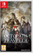 Octopath Traveler Nintendo Switch Front Cover