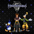 Kingdom Hearts III PlayStation 4 Front Cover