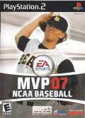 MVP 07: NCAA Baseball PlayStation 2 Front Cover