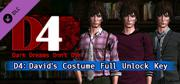 D4: Dark Dreams Don't Die - David's Costume Full Unlock Key Windows Front Cover