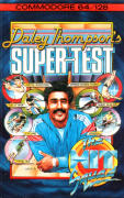 Daley Thompson's Super-Test Commodore 64 Front Cover