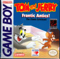 Tom and Jerry: Frantic Antics! Game Boy Front Cover