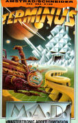 Terminus: The Prison Planet Amstrad CPC Front Cover