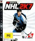 NHL 2K7 PlayStation 3 Front Cover