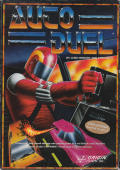 AutoDuel Commodore 64 Front Cover
