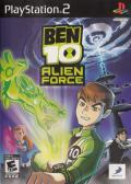 Ben 10: Alien Force PlayStation 2 Front Cover