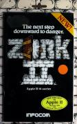 Zork II: The Wizard of Frobozz Apple II Front Cover