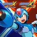 Mega Man X: Legacy Collection 1+2 PlayStation 4 Front Cover