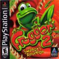 Frogger 2: Swampy's Revenge PlayStation Front Cover Manual - Front