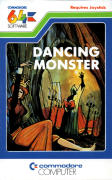 Dancing Monster Commodore 64 Front Cover