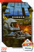 Sky Runner Commodore 64 Front Cover