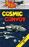 Cosmic Convoy Commodore 64 Front Cover