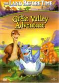 The Land Before Time: The Great Valley Adventure (included games) DVD Player Front Cover