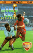 World Cup Challenge Amstrad CPC Front Cover