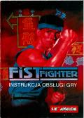 Fist Fighter Amiga Manual Front