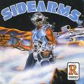 Side Arms Hyper Dyne TurboGrafx-16 Front Cover