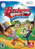 Backyard Sports: Sandlot Sluggers Wii Front Cover