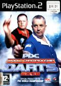PDC World Championship Darts 2008 PlayStation 2 Front Cover