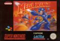 Mega Man 7 SNES Front Cover