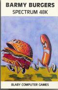 Barmy Burgers ZX Spectrum Front Cover