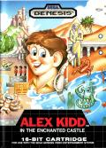 Alex Kidd in the Enchanted Castle Genesis Front Cover