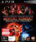 Mortal Kombat: Komplete Edition PlayStation 3 Front Cover