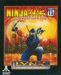 Ninja Gaiden III: The Ancient Ship of Doom Lynx Front Cover