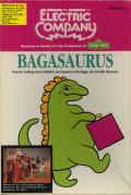 Bagasaurus Apple II Front Cover